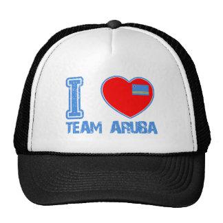Aruban designs mesh hats