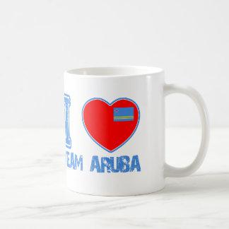 Aruban designs coffee mugs