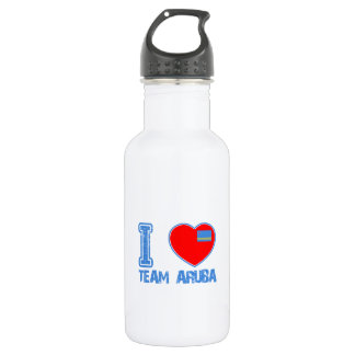Aruban designs 18oz water bottle