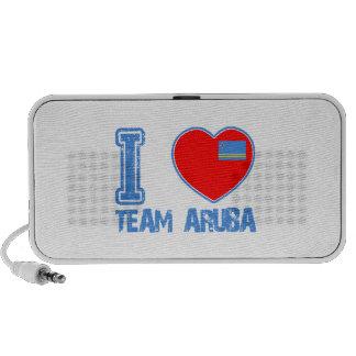 Aruban designs speaker system