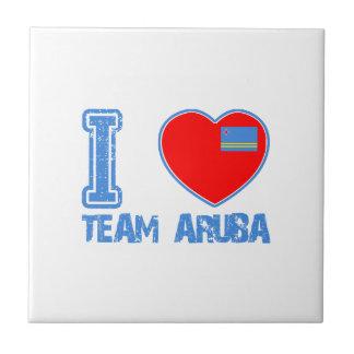 Aruban designs tiles