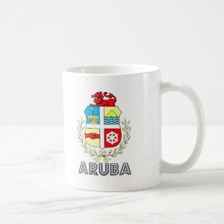 Aruban Emblem Coffee Mugs