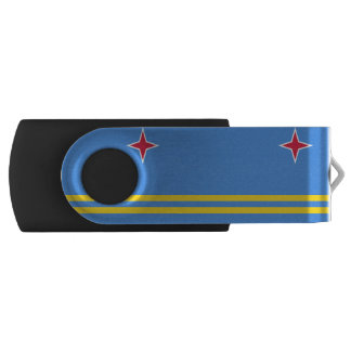 Aruban flag USB flash drive