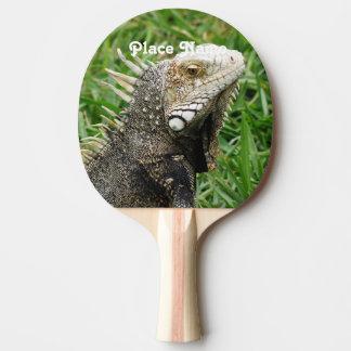 Aruban Lizard Ping-Pong Paddle
