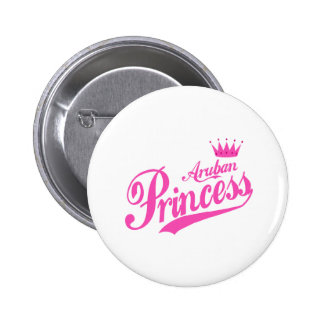 Aruban Princess Pinback Buttons