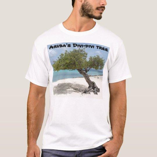 Aruba's Divi-divi tree t-shirt
