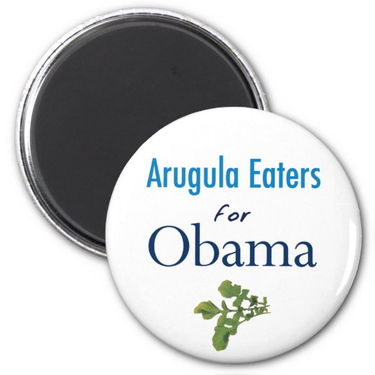 Arugula Eaters for Obama Magnet