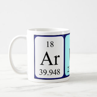 Arun periodic table name mug