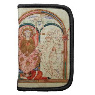 Arundel 155 f.133 Monks of Christchurch, Canterbur Organizer