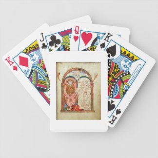 Arundel 155 f.133 Monks of Christchurch, Canterbur Deck Of Cards