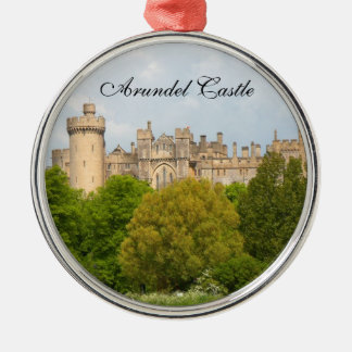 Arundel Castle historic photo custom ornament