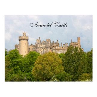 Arundel Castle historic photo custom postcard