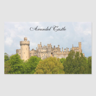 Arundel Castle historic photo custom stickers
