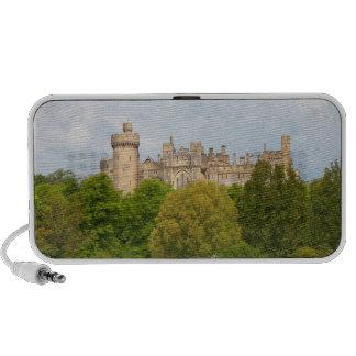 Arundel Castle historic photo doodle speakers