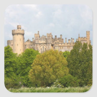Arundel Castle historic photo sticker, stickers
