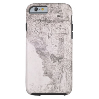 Arundel Mill and Castle, 1835 (drawing) Tough iPhone 6 Case