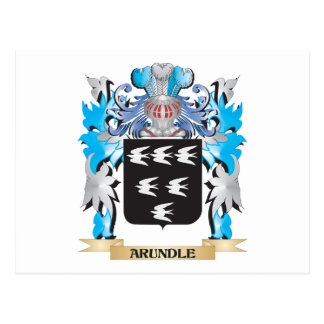 Arundle Coat Of Arms Post Card