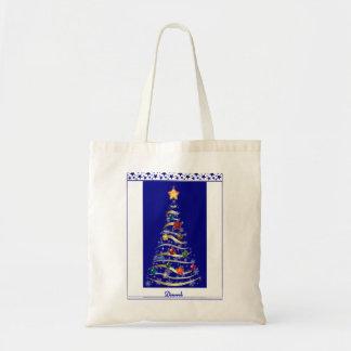 Árvore Azul Budget Tote Bag