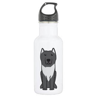 Aryan Molossus Dog Cartoon 532 Ml Water Bottle