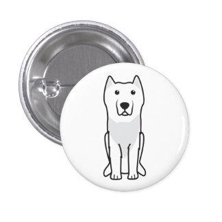 Aryan Molossus Dog Cartoon Buttons