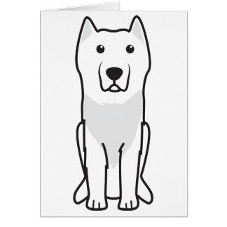 Aryan Molossus Dog Cartoon Greeting Card