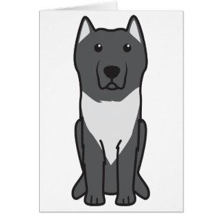 Aryan Molossus Dog Cartoon Cards