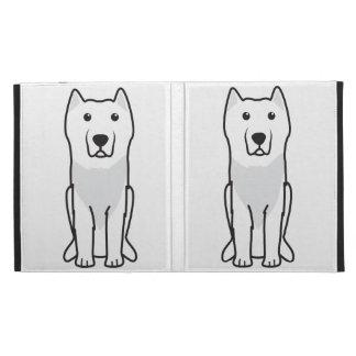 Aryan Molossus Dog Cartoon iPad Folio Cover