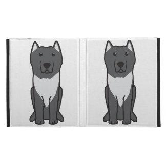 Aryan Molossus Dog Cartoon iPad Folio Covers
