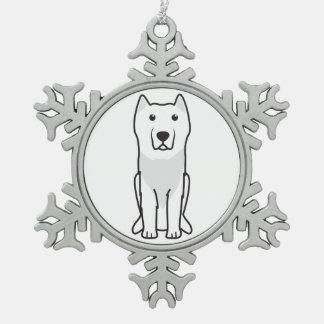Aryan Molossus Dog Cartoon Ornament