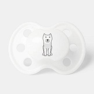 Aryan Molossus Dog Cartoon Baby Pacifier