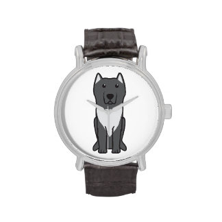 Aryan Molossus Dog Cartoon Wristwatches