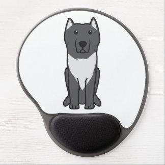 Aryan Molossus Dog Cartoon Gel Mouse Mat