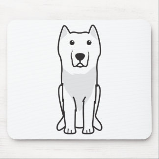 Aryan Molossus Dog Cartoon Mouse Pad