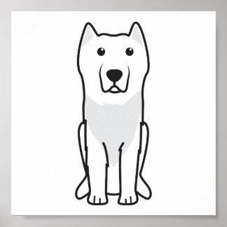 Aryan Molossus Dog Cartoon Posters