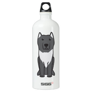 Aryan Molossus Dog Cartoon SIGG Traveller 1.0L Water Bottle