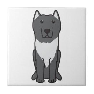Aryan Molossus Dog Cartoon Ceramic Tiles