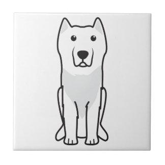 Aryan Molossus Dog Cartoon Tile