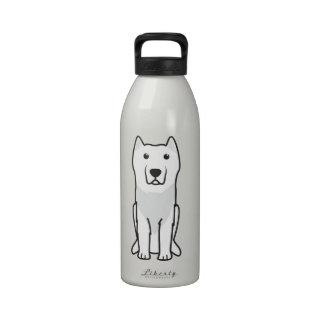 Aryan Molossus Dog Cartoon Water Bottles