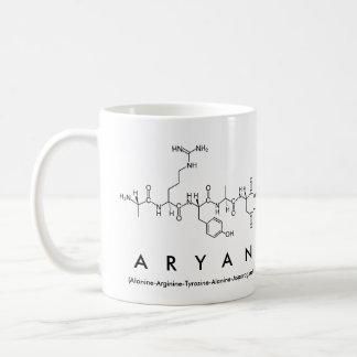 Aryan peptide name mug