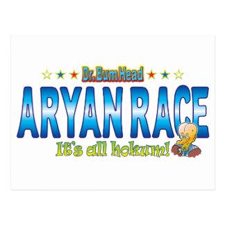 Aryan Race Dr. B Head Postcard