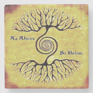 As Above, So Below.Tree Of Life, Spiritual Coaster