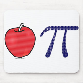 As American As Apple Pi Mouse Pad