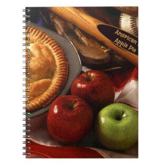 As American as Apple Pie Note Book