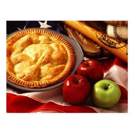 As American as apple pie! Postcard