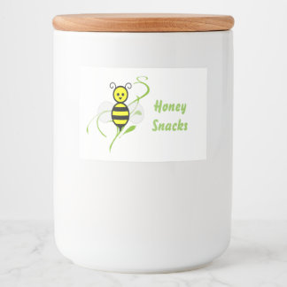 As Busy As A Bee Food Label