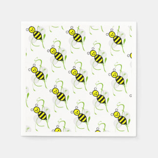As Busy As A Bee Napkins Paper Serviettes