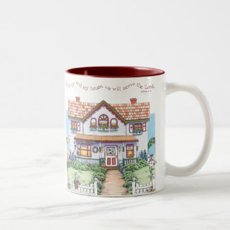 As For Me and My House Scripture Mug
