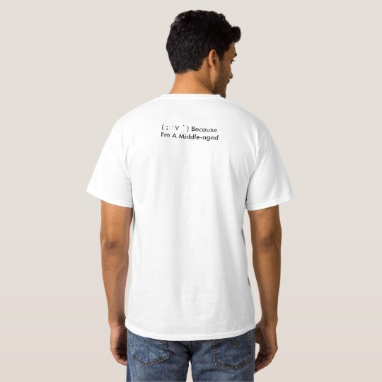 As for me middle age T-Shirt
