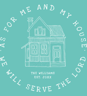 Family Bible Verse Art & Wall Décor | Zazzle co uk