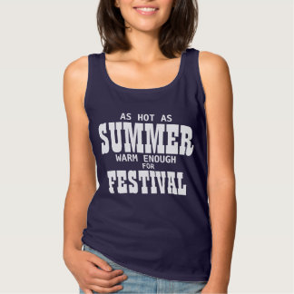 AS HOT AS SUMMER BASIC TANK TOP